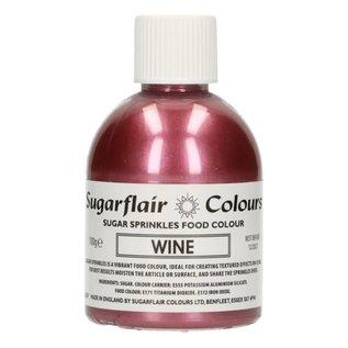 sugarflair Sugarflair Sugar Sprinkles -Wine- 100g