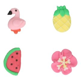 FunCakes FunCakes Suikerdecoratie Tropical Set/8