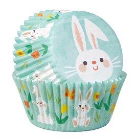 Wilton Wilton Baking Cups Easter Bunny pk/75