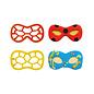 Decora Decora Carnaval Masker Koekjes Uitsteker set/2 rood geel