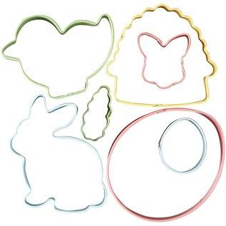 FunCakes Wilton Cookie Cutter Easter Set/7