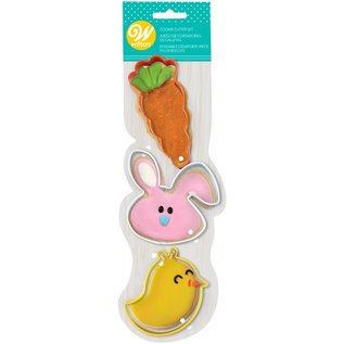 Wilton Wilton Cookie Cutter Whimsical Easter Set/3