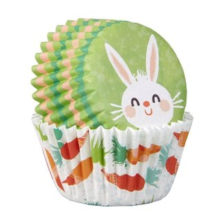 Wilton Wilton Mini Baking Cups Easter Bunny pk/100