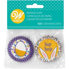 Wilton Wilton Mini Baking Cups Hip Hop pk/100