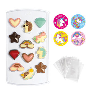 Decora Unicorn Choco Candy Kit