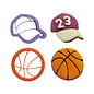 Decora Decora uitsteker basketbal set 2