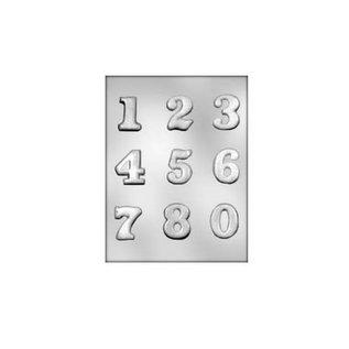 Martellato Chocolademal Cijfers (0 t/m 9) 4x4x0,6 cm