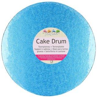 FunCakes FunCakes Cake Drum Rond Ø30,5cm -blauw-
