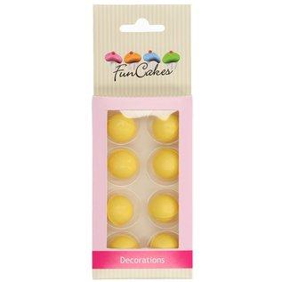 FunCakes Funcakes Choco Balls Yellow Set 8