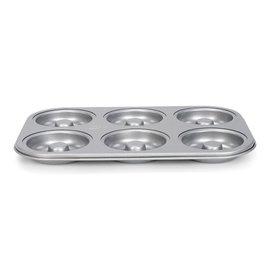 Patisse Patisse Silver-Top Donutvorm 6 vaks
