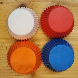 House of Marie HOM Mini Baking cups koningsdag pk/24