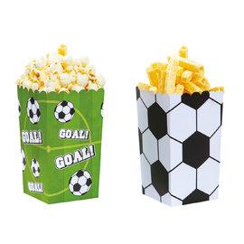 Decora Goal Popcorn party box 6 stuks