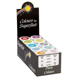 sugarflair Kleurstof Pastel Collection Set/10