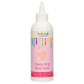 FunCakes FunCakes Choco Drip Rose Gold 180ml