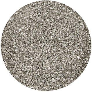 FunCakes FunCakes Gekleurde Suiker -Metallic Zilver- 80g
