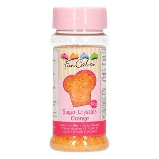 FunCakes FunCakes Gekleurde Suiker - Oranje - 80g
