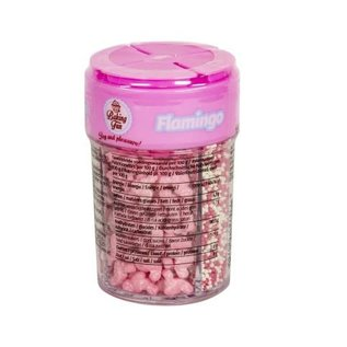 Baking Fun Strooisel Mix Flamingo 120g