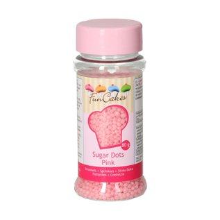 FunCakes FunCakes Sugar Dots -Pink- 80g