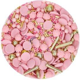 FunCakes FunCakes Sprinkle Medley -Glamour Pink- 65g