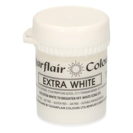 sugarflair Sugarflair - Max Concentrate Paste Colour WHITE EXTRA 42g