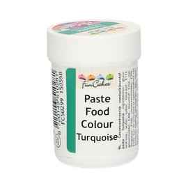 FunCakes Funcolours Paste Food Colour - Turquoise 30g