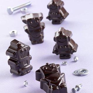 Silikomart Silikomart Chocoladevorm Robots