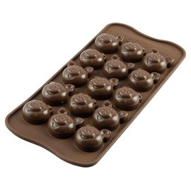 Silikomart Silikomart Chocoladevorm Varkentjes
