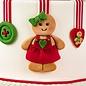 karen davies Karen Davies Siliconen Mould - Gingerbread Cookie