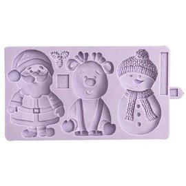 karen davies Karen Davies Siliconen Mould - Christmas Cookie