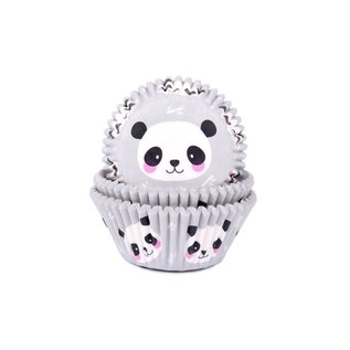 House of Marie House of Marie Baking Cups Panda pk/ 24
