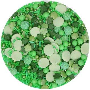 FunCakes FunCakes Sprinkle Medley -Groen- 65g