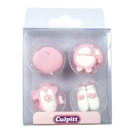 Culpitt Culpitt Suikerdecoratie Baby Meisje 12st.