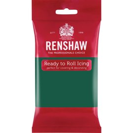 Renshaw Renshaw Rolfondant Pro 250g - Emerald Groen