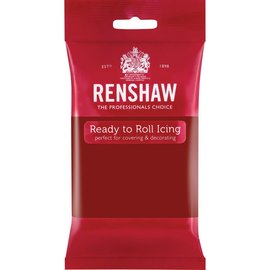 Renshaw Renshaw Rolfondant Pro 250g - Ruby Red