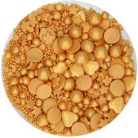 FunCakes FunCakes Sprinkle Medley -Gold Deluxe- 65g