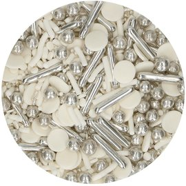 FunCakes FunCakes Sprinkle Medley -Silver Chic- 65g