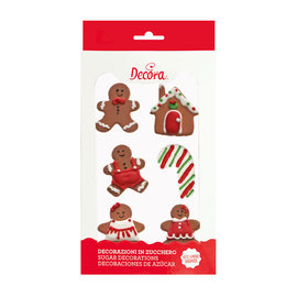 Decora Decora Gingerbread suikerdecoratie