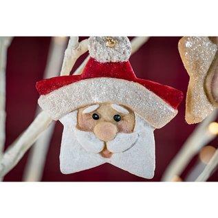 karen davies Karen Davies Siliconen Mould - Kerstman ster