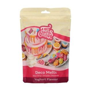 FunCakes FunCakes Deco Melts - Yoghurt Smaak- 250g