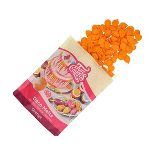 FunCakes FunCakes Deco Melts -Oranje- 250g