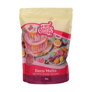 FunCakes FunCakes Deco Melts -Pink- 1kg
