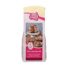 FunCakes FunCakes Mix voor Chocolade Biscuit 1kg