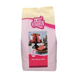 FunCakes FunCakes Mix voor Red Velvet Cake 4kg