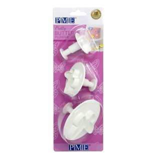 PME PME Pretty Butterfly Plunger Cutter Set/3