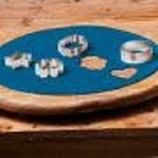 FunCakes FunCakes Ready Rolled Fondant Disc -Denim Blue-