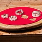 FunCakes FunCakes Ready Rolled Fondant Disc -Fire Red-