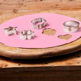 FunCakes FunCakes Ready Rolled Fondant Disc -Sweet Pink-