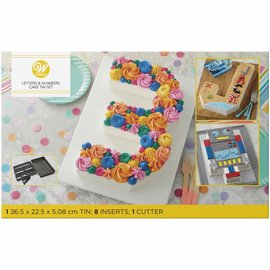 Wilton Wilton Cake Pan Numbers & Letters Set