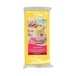 FunCakes FunCakes Rolfondant Geel -Mellow Yellow-1kg-