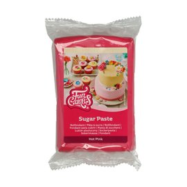 FunCakes FunCakes Rolfondant Roze -Hot Pink- -250g-